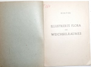 1943 [roślinność Polska-Wisła], Illustrierte Flora des Weichselraumes (flora visulensis);