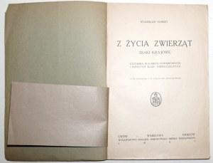 1927 - [pies, żubr] Hubert, Z ŻYCIA ZWIERZĄT; ssaki krajowe
