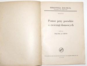 1944 - Liess, POMOC PRZY PORODZIE ZWIERZĄT