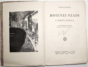 1928 - Dębicki, Moienzi Nzadi - U WRÓT KONGA