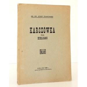 1928 - Zdanowski, KARCZÓWKA pod KIELCAMI