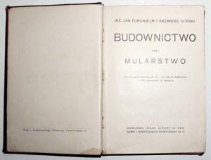 1913 - Schmitt, BUDOWNICTWO - MULARSTWO