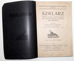 1920 - Sroczyński, SZKLARZ, praktyczne wiadomości
