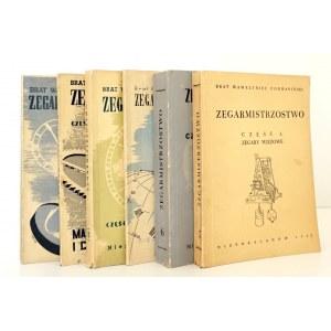 Podwapiński - ZEGARMISTRZOSTWO, t.1-6 bdb; wyd.1