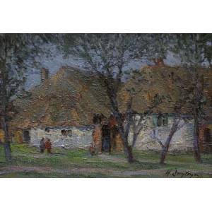 Włodzimierz Dmytryszyn, (1905-1992) Chałupy