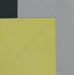 Andrzej Gieraga, (ur.1934) Żółty kwadrat