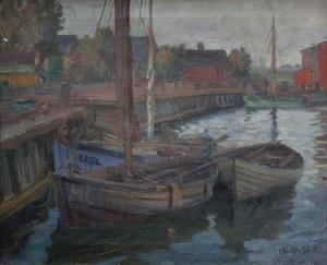 Ignacy Klukowski, (1908-1978) Łodzie na Helu