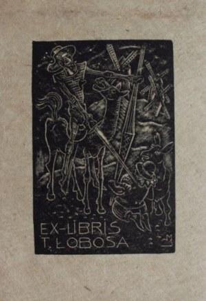 Stefan Mrożewski, (1894-1975) Ex-libris T.Łobosa