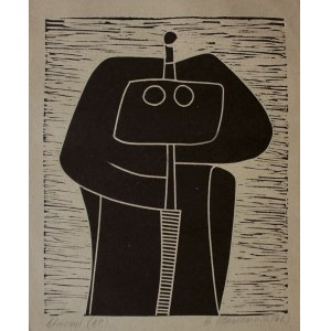 Henryk Płóciennik, (1933-2020) Bez tytułu[Rycerz]