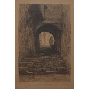 Charles Louis Philippe Zilcken, (1857-1930) Alger, ulica d'Héliopolis