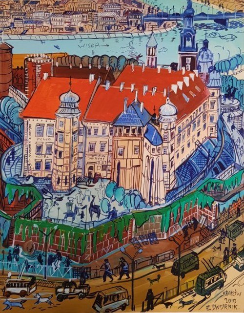 Edward Dwurnik, Kraków M