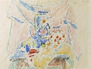 Wacław TARANCZEWSKI (1903-1987), Martwa natura z wazonem, 1948