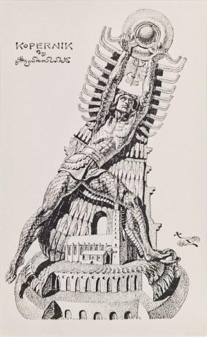 Stanisław SZUKALSKI (1893-1987), Zatrzymanie słońca / Kopernik - projekt pomnika