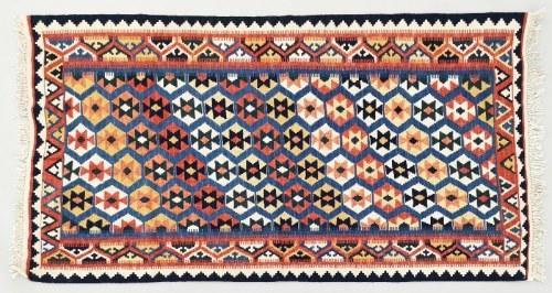 Kilim kaukaski z motywami geometrycznymi