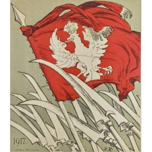 Zygmunt ROZWADOWSKI (1870-1950), Kosynierzy, 1917