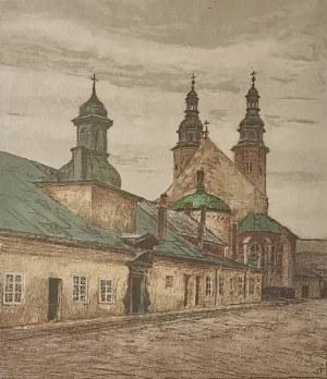 Stefan FILIPKIEWICZ (1879-1944), Kościół św. Andrzeja w Krakowie - z teki