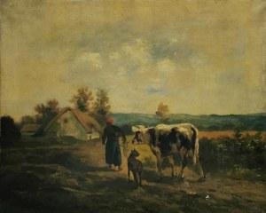 WOLSKI, XIX w., Powrót z pastwiska