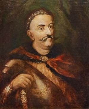 Malarz nieokreślony polski, XX w., Portret Króla Jana III Sobieskiego - kopia