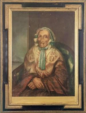Malarz nieokreślony, XIX w., Matrona