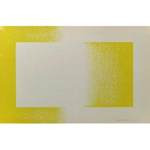 Richard ANUSZKIEWICZ (1930-2020), Żółty odwrócony,1970