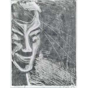 Stefania DRETLER-FLIN (1909-1994), Clown II, lata 50. XX w.