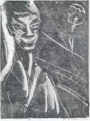 Stefania DRETLER-FLIN (1909-1994), Clown III, lata 50. XX w.