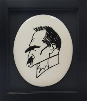 ĆMIELÓW, Karykatura J. Piłsudskiego