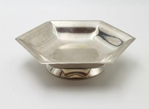 NORBLIN, Patera art déco, 2 poł. lat 30. XX w.