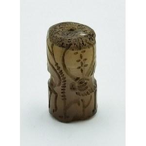 Pieczęć kamienna z wizerunkami antylopy i konia