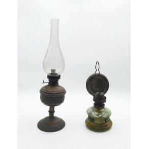 Para lamp naftowych