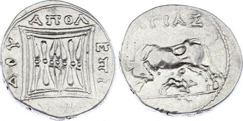 Ancient Greece Apollonia Drachm 200 - 80 BC
