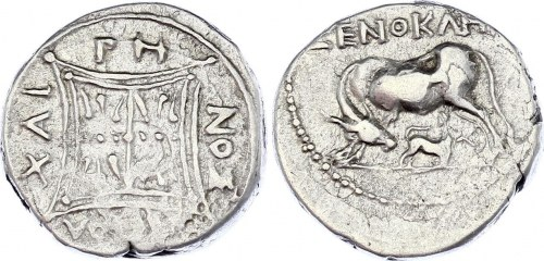 Ancient Greece Apollonia Drachm 200 - 30 BC