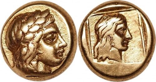 Ancient Greece Lesbos Mytilene EL Hekte (ND)