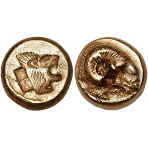 Ancient Greece Lesbos Mytilene EL Hekte 521 - 478 BC (ND)