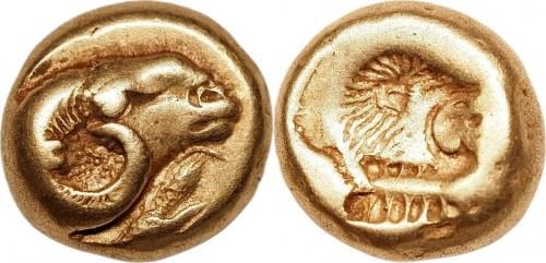 Ancient Greece Lesbos Mytilene EL Hekte 478 - 455 BC (ND)