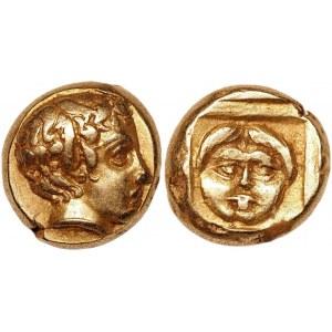 Ancient Greece Lesbos Mytilene EL Hekte 454 - 428 BC (ND)