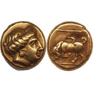 Ancient Greece Lesbos Mytilene EL Hekte 377 - 326 BC (ND)