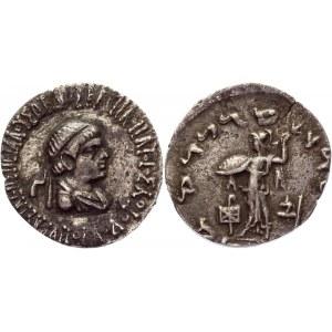 Bactria Indo-Greek Kingdom AR Drachm 80 - 65 BC, Apollodotos II Soter Philopator Megas