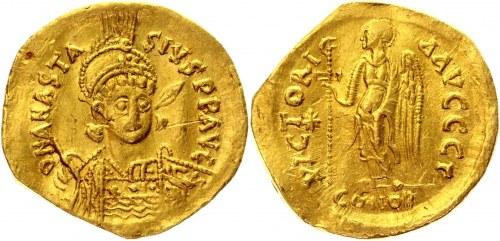 Byzantium Solidus 491 - 518 AD, Anastasius