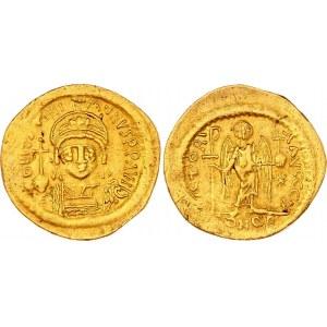Byzantium Solidus 517 - 518 AD Justin I
