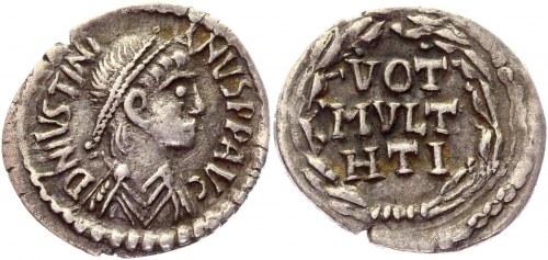 Byzantium Half Siliqua 527 - 537 AD, Justinian I