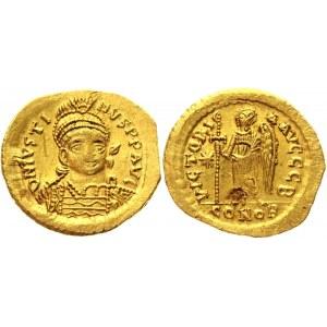Byzantium Solidus 527 - 542 AD, Justinian I