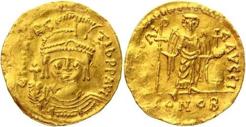 Byzantium Solidus 582 - 602 AD, Maurice Tiberius