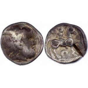 Celtic Emmitation of Roman Tetradrachm Early 3rd Century BC