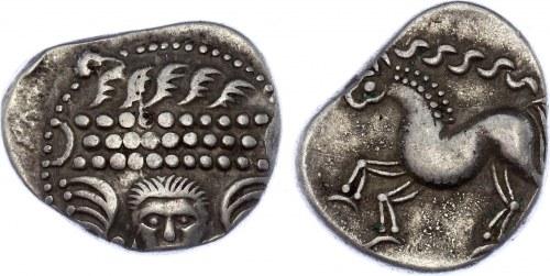 Celtis Central Europe East Noricum AR Tetradrachm 200 - 1 BC Extremely Rare!!!
