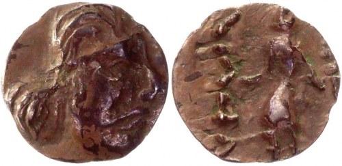 India Kushan Empire AR Obol 1 - 100 AD