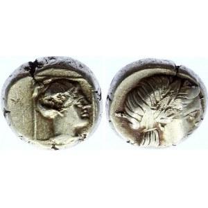 Lesbos Mytilene EL Hekte / Sixth Stater 377 - 326 BC