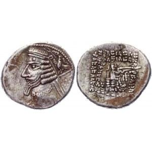 Parthia Rhagai Drahma 38 - 2 BC Phraates IV
