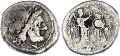 Roman Republic Denarius 200 - 100 BC