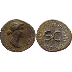 Roman Republic Livia AE Dupondius 14 - 37 AD, Tiberius Collectors Copy